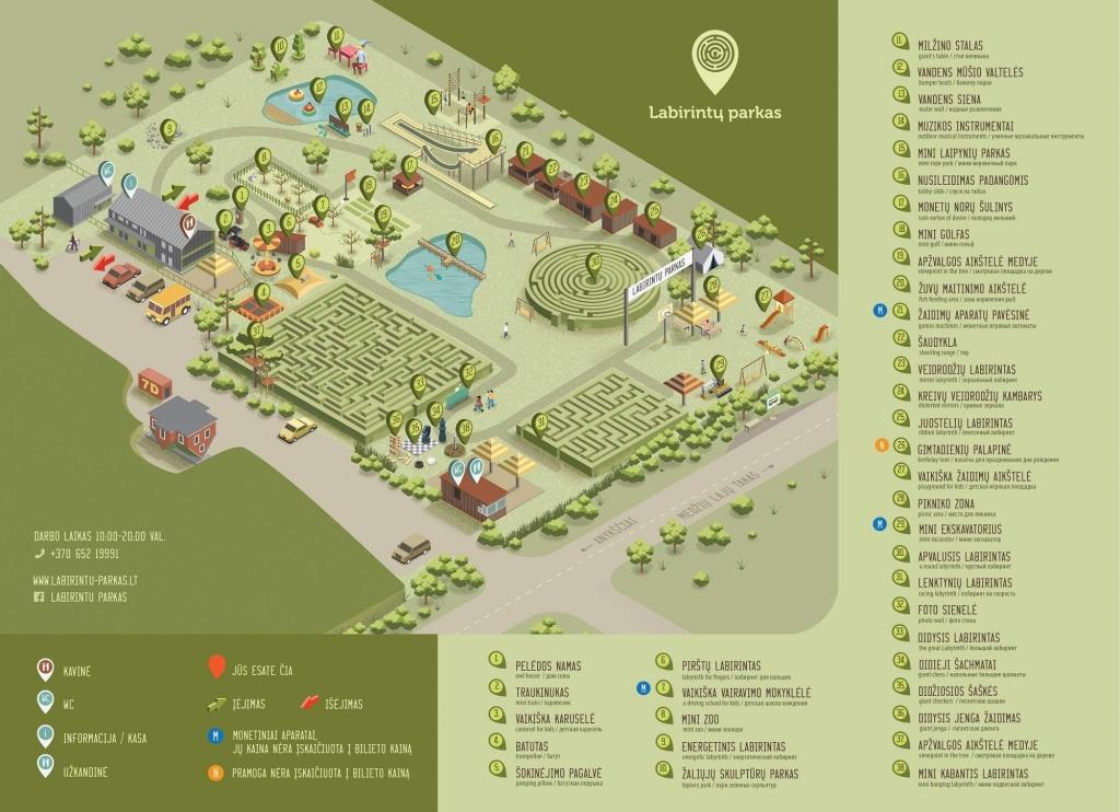 Pramogų žemėlapis